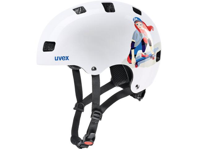 UVEX Kid 3 Helmet Kinder white skate